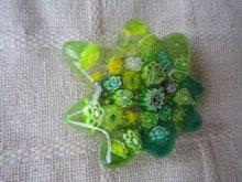 他の写真2: ヴェネチアンミルフィオリの新緑もみじ帯留め