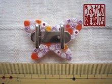 他の写真3: ヴェネチアンミルフィオリの蝶帯留め(ピンク)