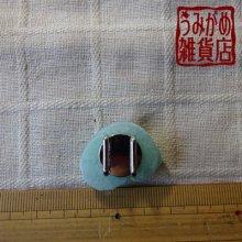 他の写真3: 巻き貝の帯留め(薄緑色)*パート・ド・ヴェール