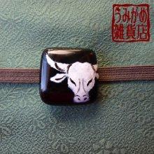 他の写真2: 牛頭の帯留め